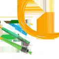 Патч-корд волоконно-оптический (шнур) SM 9/125 (OS2), FC/APC-FC/APC, simplex, LSZH, 10 м